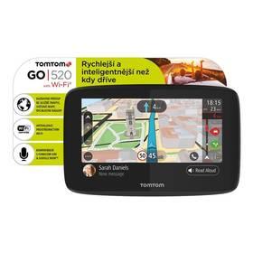 Tomtom GO 520 World, Wi-Fi, LIFETIME mapy (1PN5.002.01) černá + Doprava zdarma