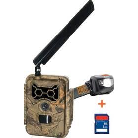 WildGuarder Watcher01 4G LTE + 8 GB karta + čelovka HL125 zelená/plast