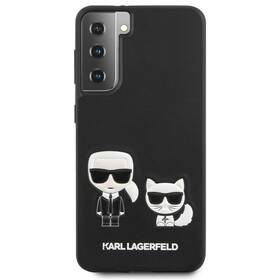 Karl Lagerfeld Karl &Choupette na Samsung Galaxy S21+ 5G (KLHCS21MPCUSKCBK) čierny