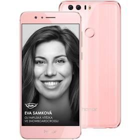 Honor 8 Dual SIM Premium 64 GB (51090YUJ) růžový SIM s kreditem T-Mobile 200Kč Twist Online Internet (zdarma)Software F-Secure SAFE 6 měsíců pro 3 zařízení (zdarma) + Doprava zdarma
