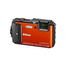 Nikon Coolpix AW130 outdoor kit oranžový