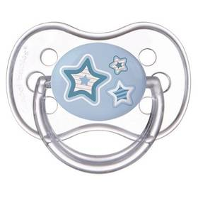 Cumlík Canpol babies NEWBORN BABY silikonové třešinka 0-6m modré