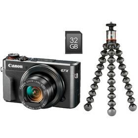 Canon PowerShot G7X Mark II Vlogger Kit (1066C037) čierny