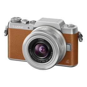 Panasonic Lumix DMC-GF7KEG-T + objektiv 12-32 mm stříbrný/hnědý + Doprava zdarma