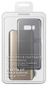 Samsung Clear Cover + Baterry Pack pro Galaxy S8 (EB-WG95ABBEGWW) průhledný + Doprava zdarma