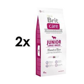 Brit Care Junior Large Breed Lamb & Rice 2 x 12 kg + Doprava zdarma