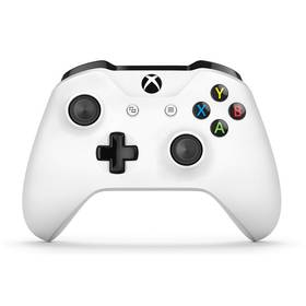 Microsoft Xbox One S Wireless - bílý (TF5-00004)