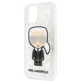 Karl Lagerfeld Glitter Iridescente na Apple iPhone 11 Pro (KLHCN58LGIRKL) (vrácené zboží 8800565687)