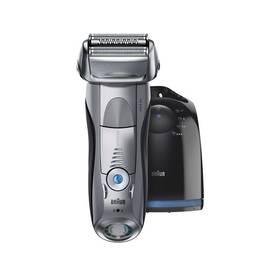 Braun Series 7 7899cc Clean&Charge Wet&Dry stříbrný + Doprava zdarma