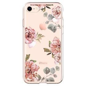 Spigen Liquid Crystal Aquarelle pro Apple iPhone 8/7 - růže (054CS22619)