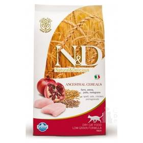 N&D Grain Free CAT Neutered Chicken&Pomegranate 5 kg + Doprava zdarma