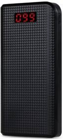 Remax 30 000 mAh, Carbon Design, 2,1A (AA-1041) černá