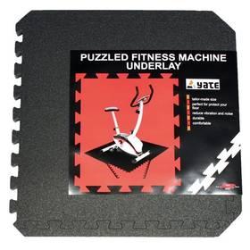 Tatami Yate Fitness Puzzle Mat 55x55x0,8 cm - černá
