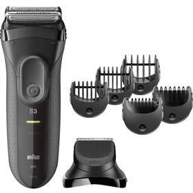 Braun Series 3 3000BT černý + Doprava zdarma