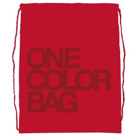 Stil studentský One Colour červený