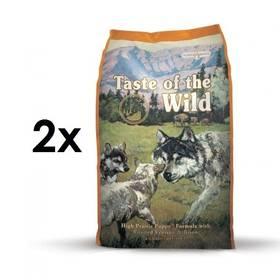 Taste of the Wild High Prairie Puppy 2 x 13 kg + Doprava zdarma