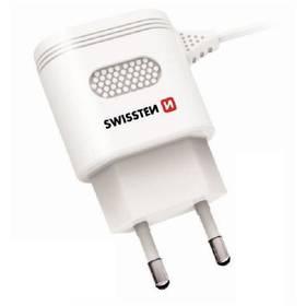 Swissten USB-C, 2,4A biela