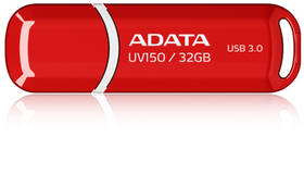 USB flash disk ADATA UV150 32GB (AUV150-32G-RRD) červený