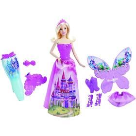 Barbie Mattel víla a pohádkové oblečky