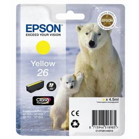 Epson T2614, 4,5ml (C13T26144010) žlutá