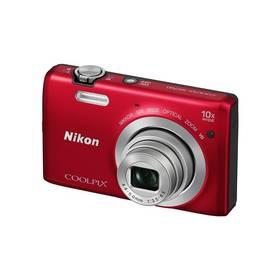 Digitální fotoaparát Nikon Coolpix S6700 červený