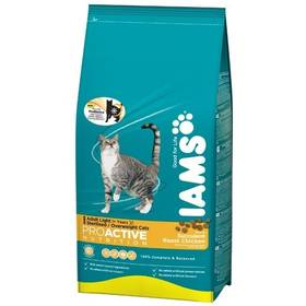 Iams Cat Light rich in Chicken 10 kg + Doprava zdarma