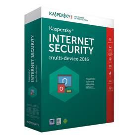 Software Kaspersky Internet Security multi-device 2016 - 4 zařízení - 1 rok CZ (KL1941OBDFS-6MCZ)