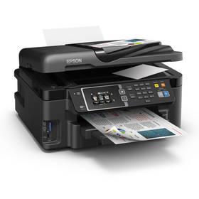 Epson WorkForce WF-3620DWF (C11CD19302) černá Inkoustová náplň Epson Black 27 DURABrite Ultra Ink (zdarma)Software F-Secure SAFE 6 měsíců pro 3 zařízení (zdarma) + Kabel za zvýhodněnou cenu + Doprava zdarma