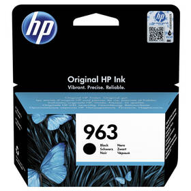 HP 963, 1000 stran (3JA26AE) černá
