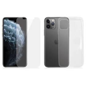 PanzerGlass na Apple iPhone 11 Pro + kryt na mobil Clear Case (B2661) průhledné (rozbalené zboží 8800558311)