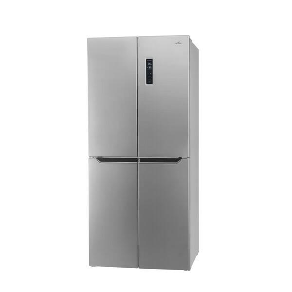 Americká lednice ETA 139090010 stříbrná