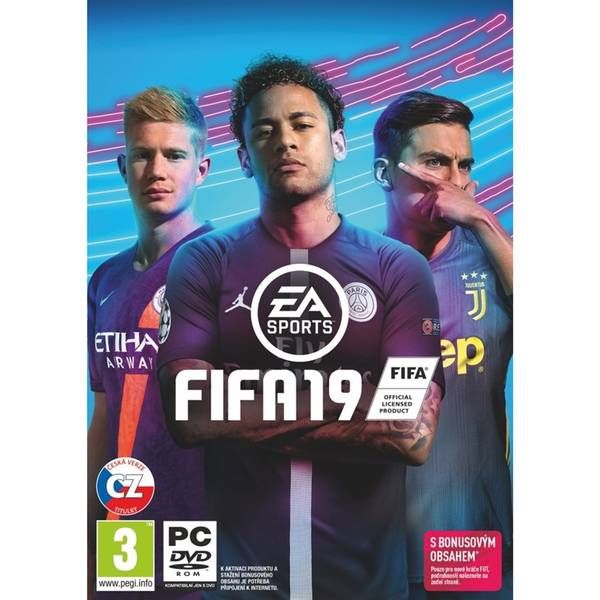 Hra EA PC FIFA 19 (EAPC01801) (vrácené zboží 8800137163)