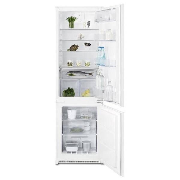 Kombinácia chladničky s mrazničkou Electrolux ENN2812COW biela