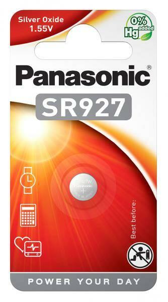 Baterie Panasonic SR927, blistr 1ks (SR-927EL/1B)