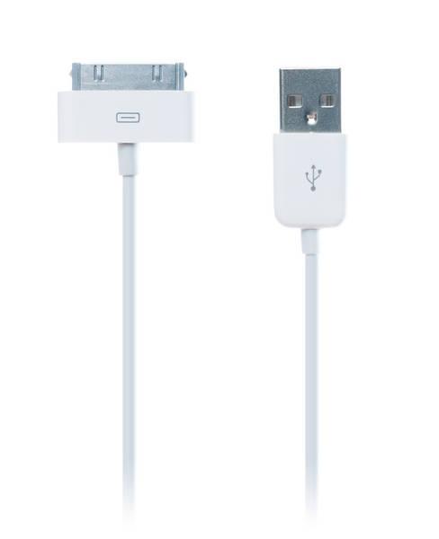 Kabel Connect IT USB/30 pin, MFi, 1m (CI-97) bílý