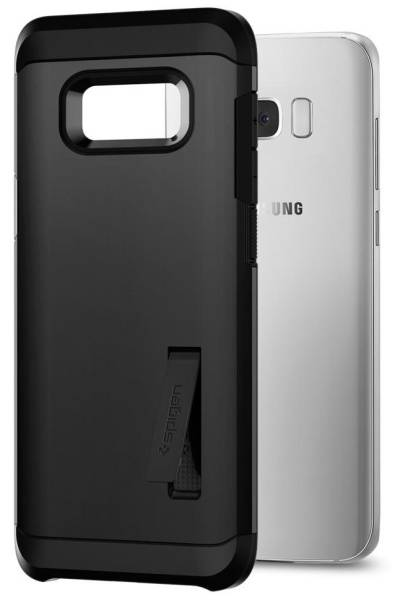 Kryt na mobil Spigen Tough Armor Samsung Galaxy S8 (565CS21643) černý