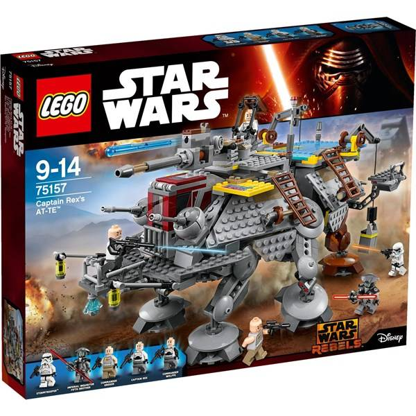 Stavebnice LEGO® STAR WARS™ 75157 Captain Rex's AT-TE - AT-TE kapitána Rexe