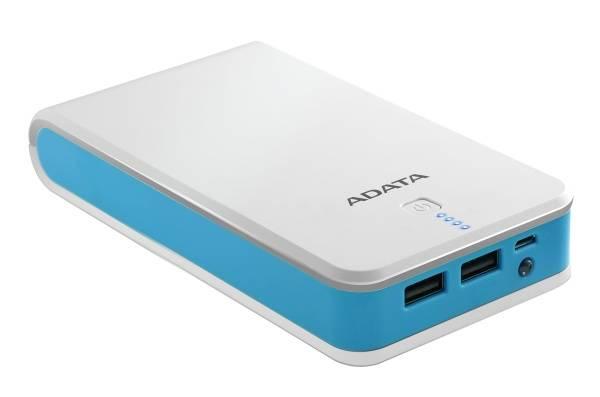 Powerbank ADATA P20100 20100mAh (AP20100-5V-CWHBL) bílá