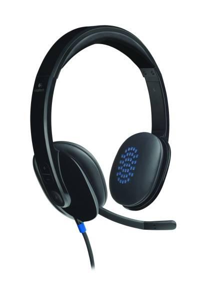 Headset Logitech H540 USB (981-000480) černý