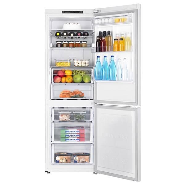 Chladnička s mrazničkou Samsung RB33J3015WW/EF bílá