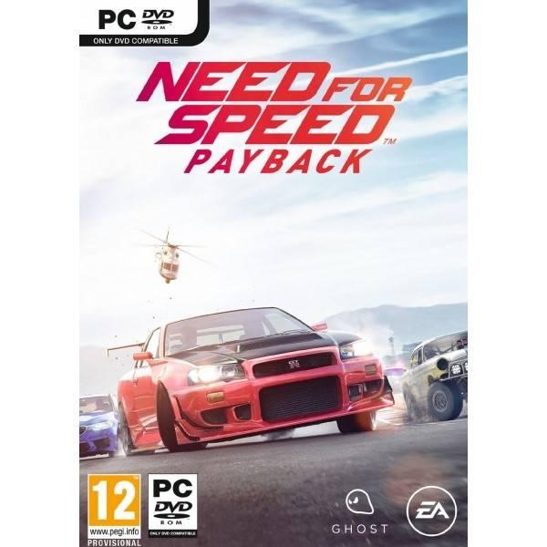 Hra EA PC Need for Speed Payback (EAPC03562) (Náhradní obal / Silně deformovaný obal 3000002117)