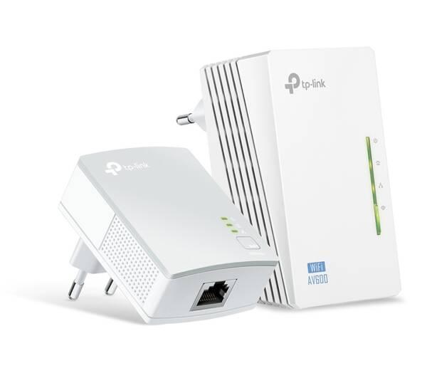 Síťový rozvod LAN po 230V TP-Link TL-WPA4220 KIT (TL-WPA4220KIT) bílý