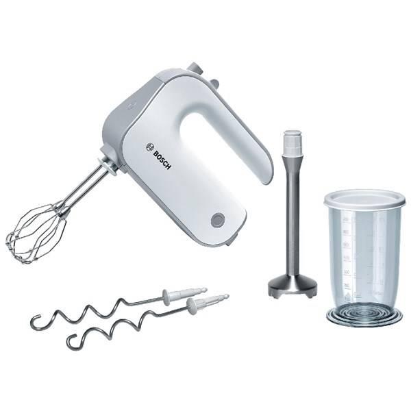 Ruční šlehač Bosch MFQ4070 stříbrný/bílý