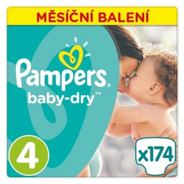 Plenky Pampers Active Baby Monthy Box S4 174 ks