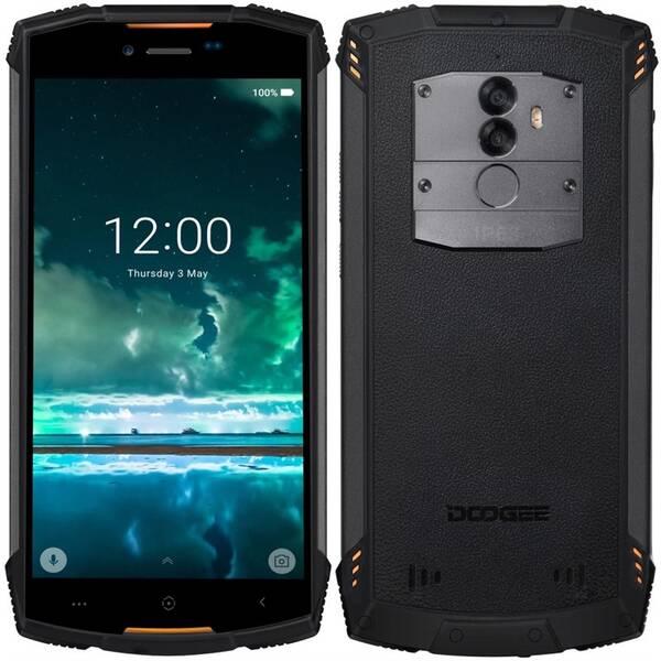 Mobilní telefon Doogee S55 (DGE000459) oranžový