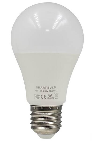 Bezdrátová žárovka iQtech SmartLife WB011, Wi-Fi, E27, 9 W, bílá (iQTWB011)