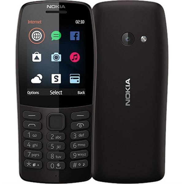 Mobilní telefon Nokia 210 Dual SIM (16OTRB01A04) černý (vrácené zboží 8800275286)