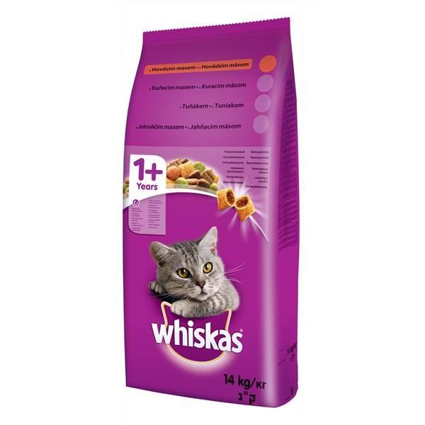 Granule Whiskas Adult hovězí 14 kg
