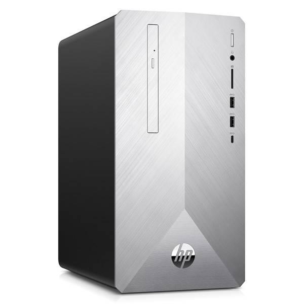 Stolní počítač HP Pavilion 595-p0013nc (4MG59EA#BCM) stříbrný