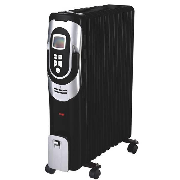 Olejový radiátor Guzzanti GZ 411BD černý